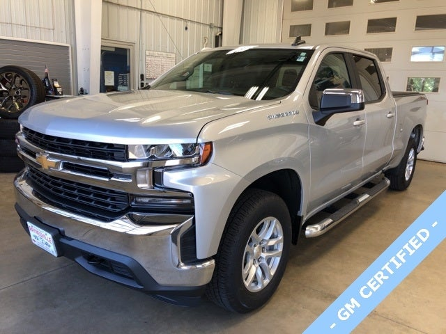 Certified 2020 Chevrolet Silverado 1500 LT with VIN 1GCUYDED9LZ312573 for sale in Paynesville, Minnesota