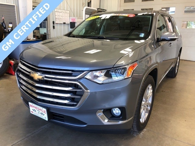 Certified 2018 Chevrolet Traverse High Country with VIN 1GNEVKKWXJJ191997 for sale in Paynesville, Minnesota