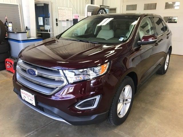 Used 2018 Ford Edge SEL with VIN 2FMPK4J84JBB60608 for sale in Paynesville, Minnesota