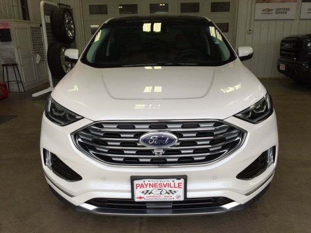 Used 2019 Ford Edge Titanium with VIN 2FMPK4K91KBC52087 for sale in Paynesville, Minnesota