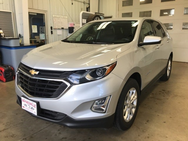 Used 2019 Chevrolet Equinox LT with VIN 2GNAXUEVXK6126802 for sale in Paynesville, Minnesota