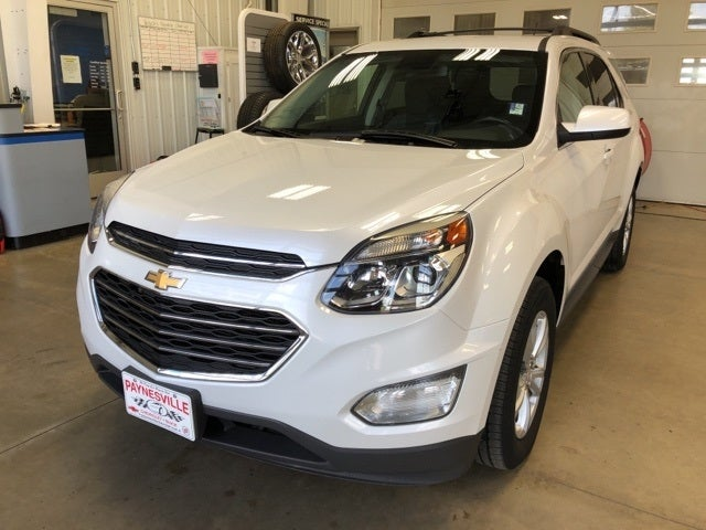 Certified 2017 Chevrolet Equinox LT with VIN 2GNFLFEK0H6160727 for sale in Paynesville, Minnesota
